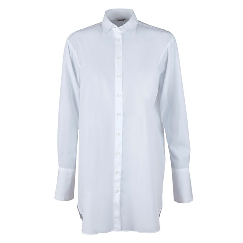 Saga Boyfriend Shirt White