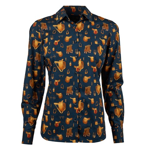 Saddle Themed Feminine Shirt