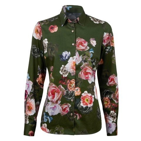 Romantic Floral Feminine Shirt