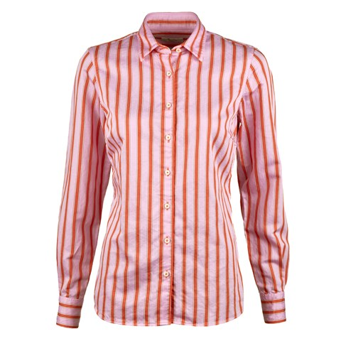 Pink Striped Feminine Shirt