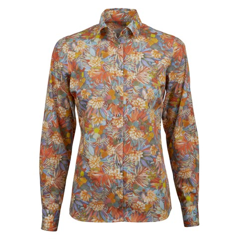 Jungle Floral Feminine Shirt