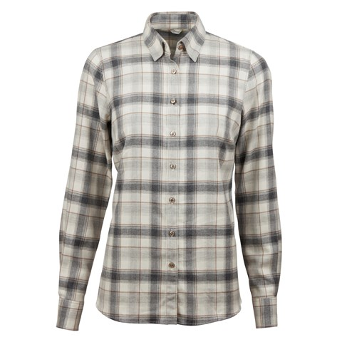 Checked Flannel Feminine Shirt