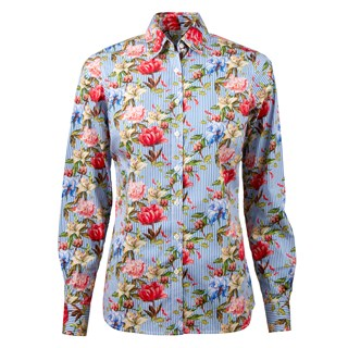 Flower Patterned Feminine Shirt