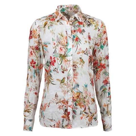 Hawaii Feminine Linen Shirt