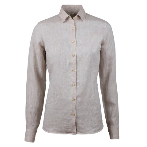 Sofie Linen Shirt Light Beige