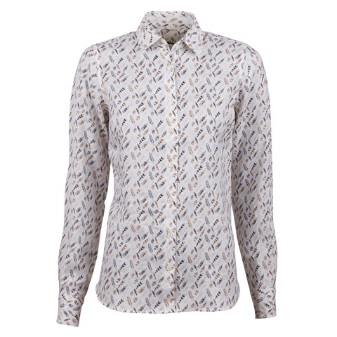 Feather Feminine Linen Shirt