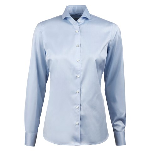 Light Blue Feminine Shirt