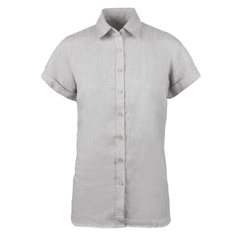 Steffi Short Sleeve Linen Shirt