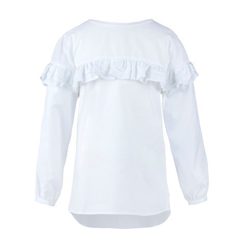 Girls Blouse With Frill