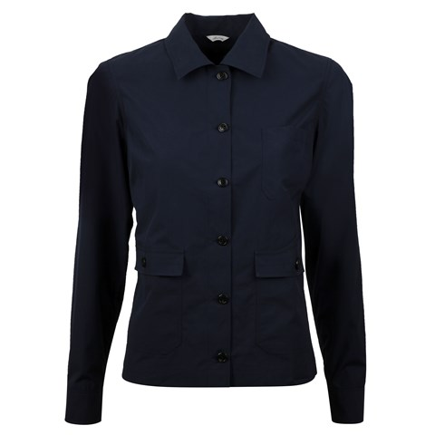 Abby Overshirt Navy