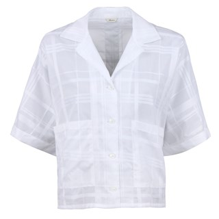 Alice Shirt Checked White
