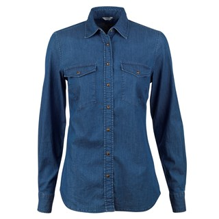 Sandy Washed Denim Shirt