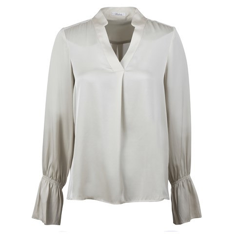 Alva Blouse Silk Stretch Off-White