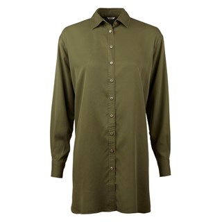 Army Green Long Shirt