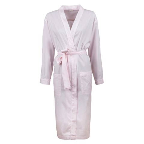 Light Pink Oxford Night Robe