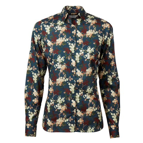 Floral Patterned Supreme Shirt