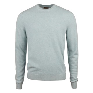 Mint Green Cashmere Crew Neck