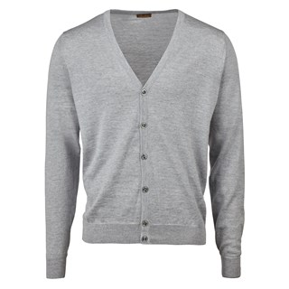 Light Grey Merino Cardigan