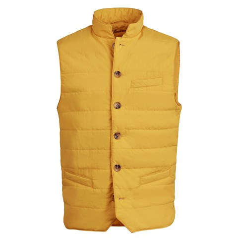 Yellow Crinkly Nylon Vest