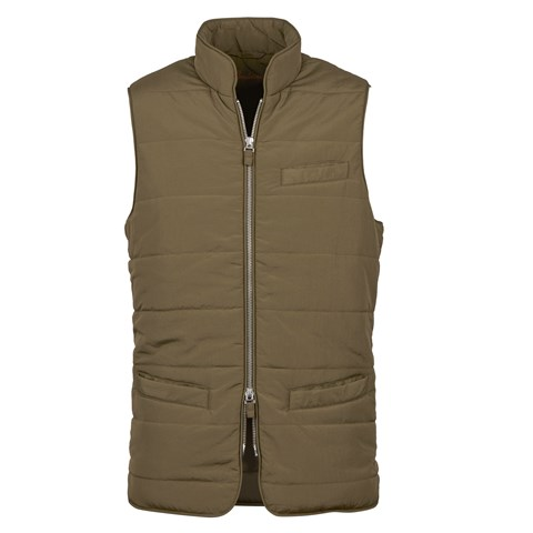Forest Green Soft Quilted Nylon Vest