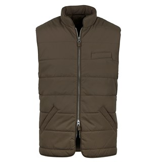 Green Soft Quilted Nylon Vest