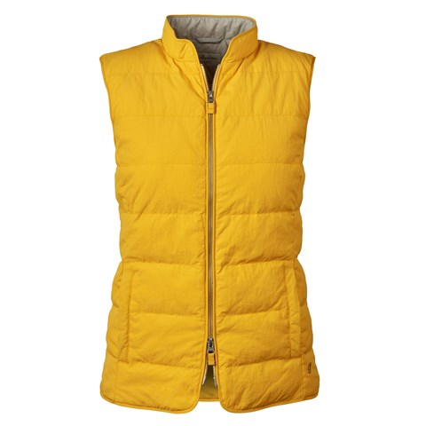 Yellow Nylon Vest