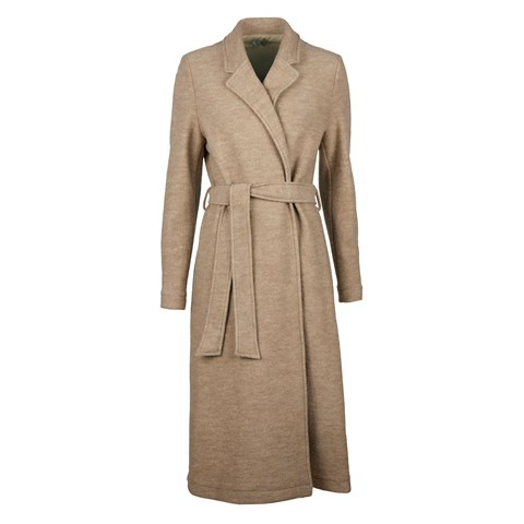 Wool Coat With Lapels