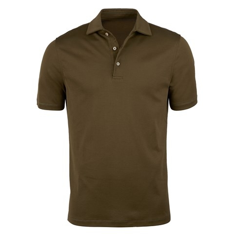 Mercerized Cotton Polo Shirt
