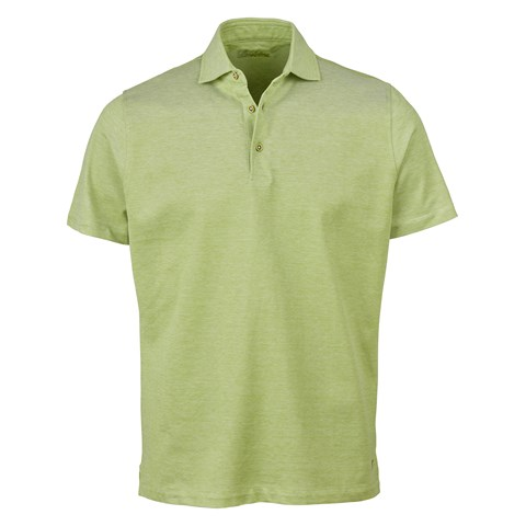 Light Green Oxford Polo Shirt