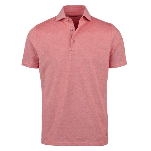 Red Oxford Polo Shirt