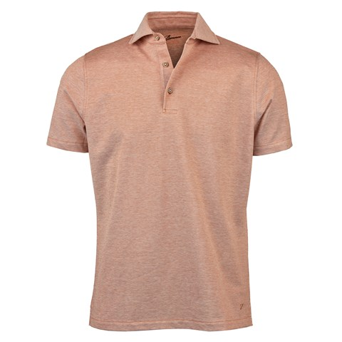Rust Oxford Polo Shirt