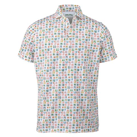 Espadrilles Patterned Polo Shirt