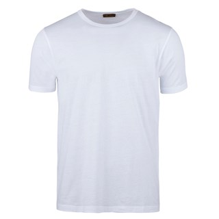 Solid Cotton T-shirt White