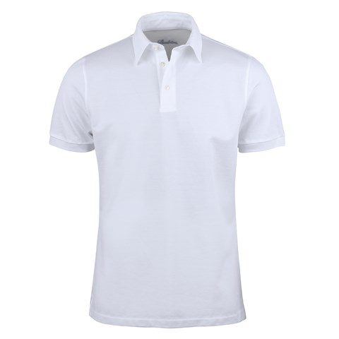 Cotton Polo Shirt White
