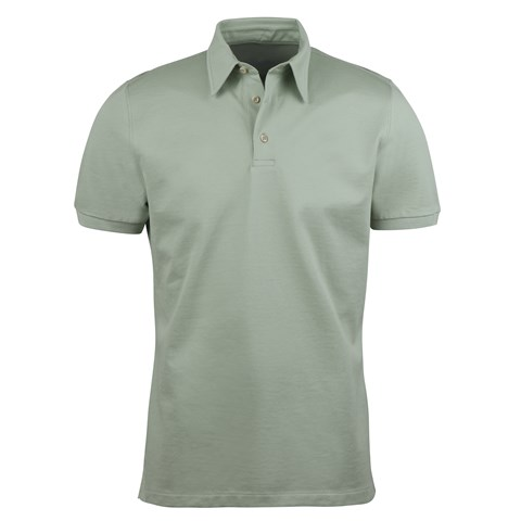 Cotton Polo Shirt Green