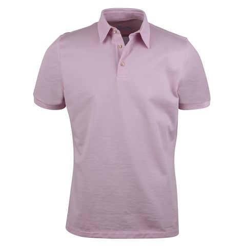 Cotton Polo Shirt Pink