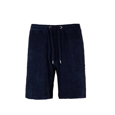 Cotton Terry Shorts Navy