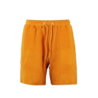 Cotton Terry Shorts Yellow