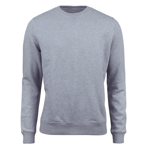 Sweatshirt Crew Neck Grey