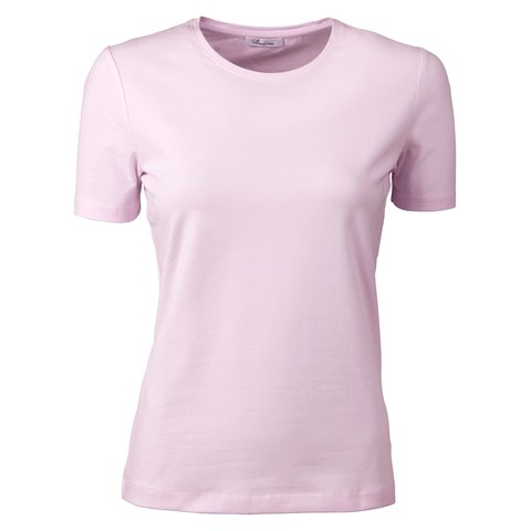 Light Pink T-Shirt In Jersey Stretch