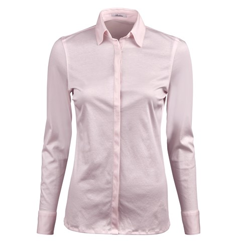 Light Pink Shirt in Jersey