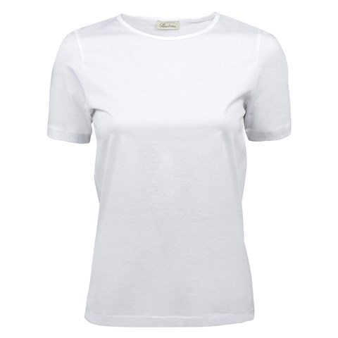 White T-Shirt In Cotton Jersey