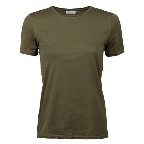Forest Green T-shirt In Cotton Jersey