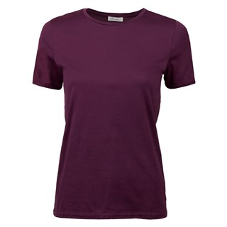 Purple T-shirt In Cotton Jersey