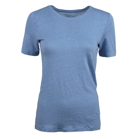 Light Blue Linen T-shirt
