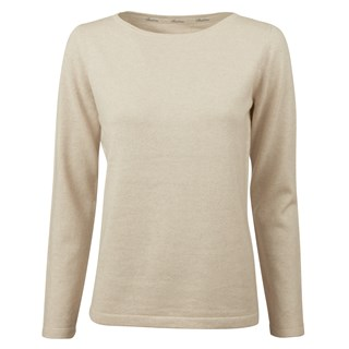 Sand Silk & Cashmere Sweater