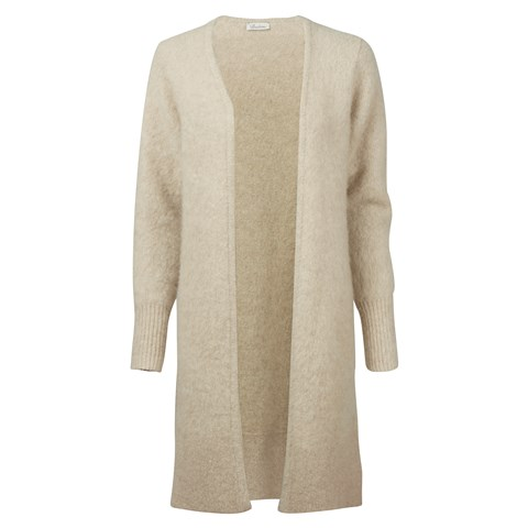 Light Beige Lama/Cashmere Cardigan