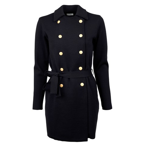 Navy Double Breasted Jacket