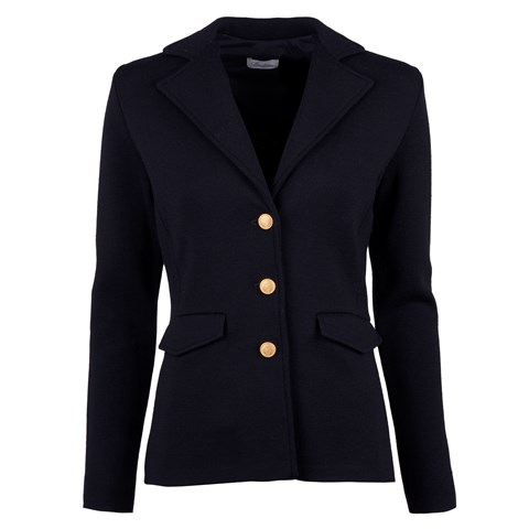 Navy Merino Jacket