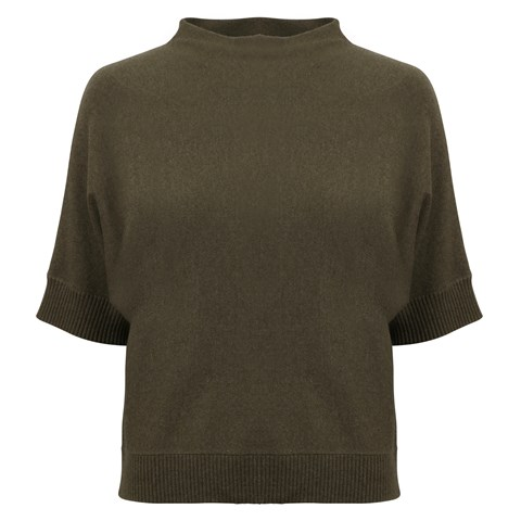 Alexandra Silk Cashmere Sweater Green